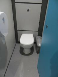 Women's toilets cubicle interior
