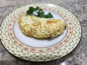 Omelette with filling of your choice.