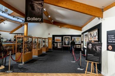 Art Gallery in Gift Shop
