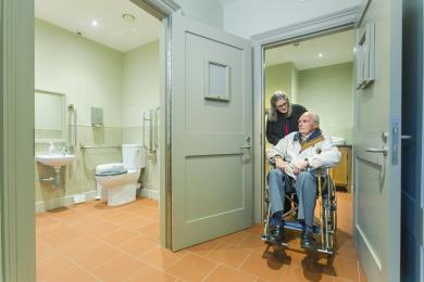 Base Court accessible toilets