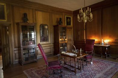 The King's Private Drawing Room, part of his Private Apartments on the ground floor