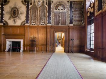 The King's Guard Chamber and State Apartments, on the first floor