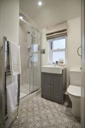 Ensuite connected to bedroom nearest stairs
