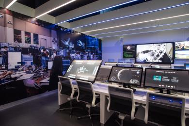 Space Zone mission control area