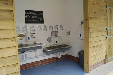 Hand Washing Area