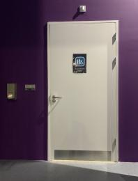 Entrance to Accessible toilet