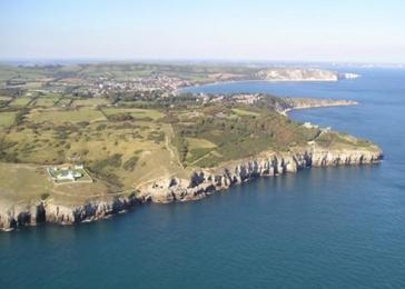 Aerial Photograph of Durlston