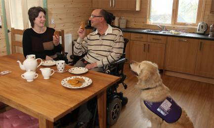 assistance dogs welcome