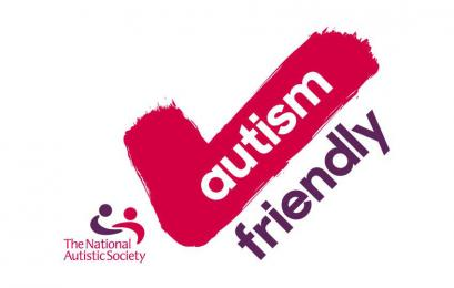 Autism Friendly award logo.