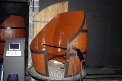 Barrel Car on the Barrel Car ride