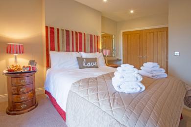 Nursery Cottage Master Bedroom