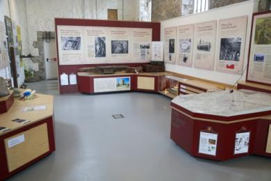 view into the boiler house display shown easy access to low panels and artefacts