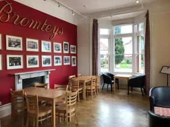 Photo of Bromley's tearooms