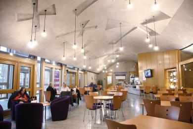 Inside the Parliament Cafe