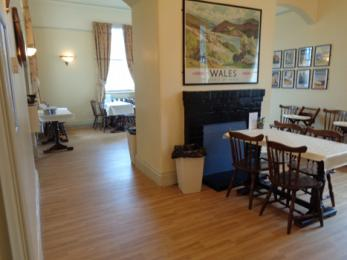 Events and school holidays cafe area