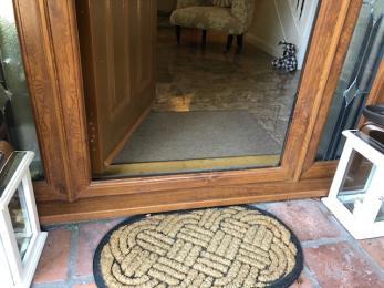 entrance front door