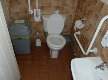 Male toilet cubicle