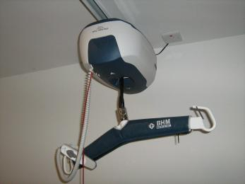 Hoist in Changing Places toilet