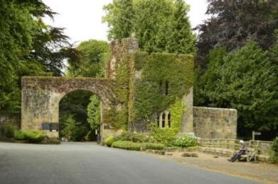 Hulne Park entrance gates Alnwick