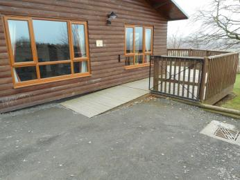 Copper Beech Ramp to Lodge
