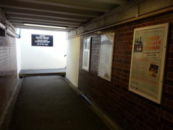 The subway to Didcot Railway Centre
