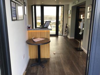 Lobby from front door
