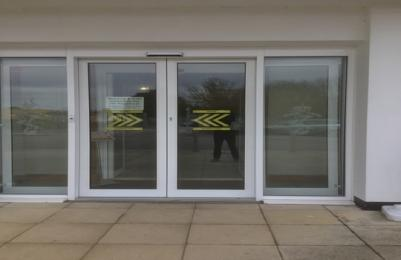 Automatic Outer entrance sliding doors