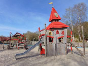 Infants play area at Moors Valley
