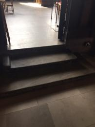 Image showing steps without handrails leading to the Jesus Chapel