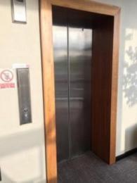 exterior of lift