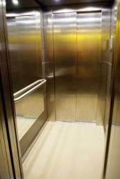interior of the lift