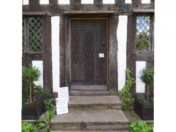 Main entrance to Selly Manor