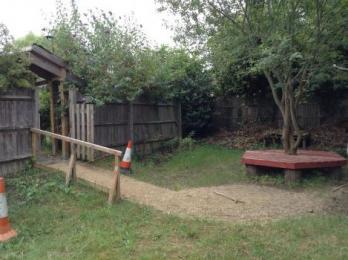 memory garden and gate