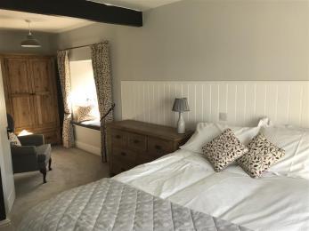 Mole's Cottage Bedroom