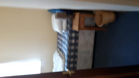 Pickwick single bedroom (bed shown unmade)