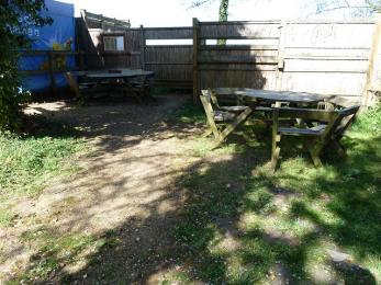 Reception picnic area