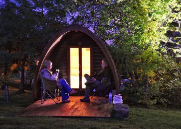 Camping Pod Night