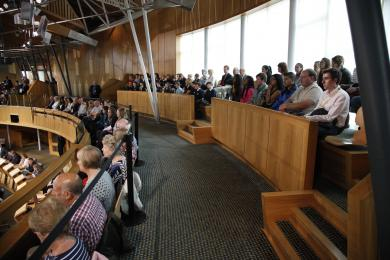 Public Gallery of the Debating Chamber