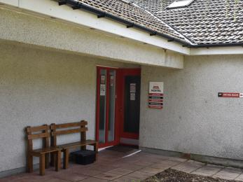Saddle Mountain Hostel entrance