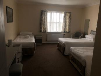 Room 51 bedroom. Room 52 mirror image. Both bedrooms fully adapted for wheelchair access. Can sleep up to 3 people