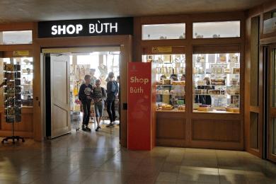 Entrance to Parliament Shop