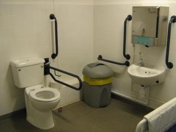 Changing Places toilet at Visitor Centre