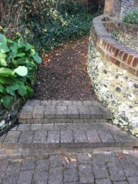 Steps to Lower Motte Path