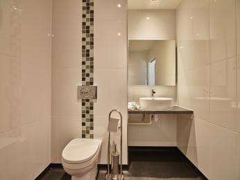 Sapphire Ensuite toilet and sink
