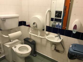 Visitor centre toilet