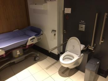 Accessible toilet with Changing Places facility