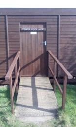 Tower Pool Hide entrance