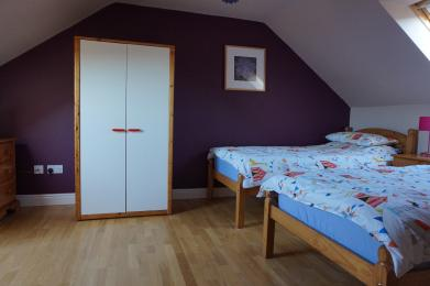 The Beltie Byre Self Catering Cottage Twin Ensuite Room (Upstairs)