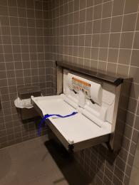 First floor access toilet changing facility