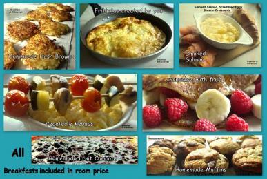 Example breakfast items